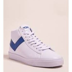 Pony high tops 8.5 blue and white